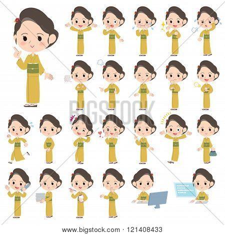 Kimono Yellow