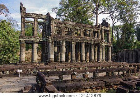 Preah Khan Temple, Angkor Area, Siem Reap, Cambodia
