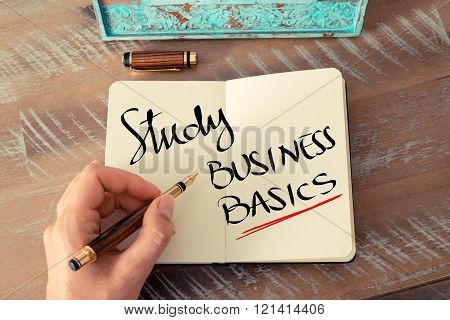 Written Text Study Business Basics