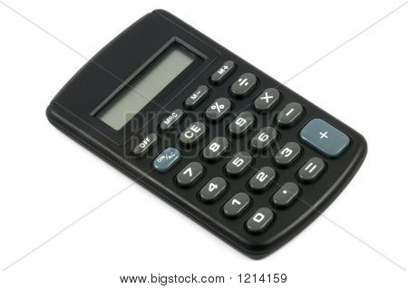 Calcualtor Isolated With Clipping Path