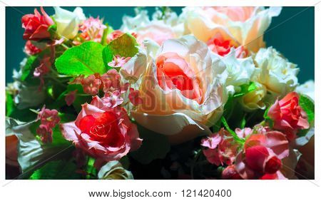 Artificial Flowers Bright