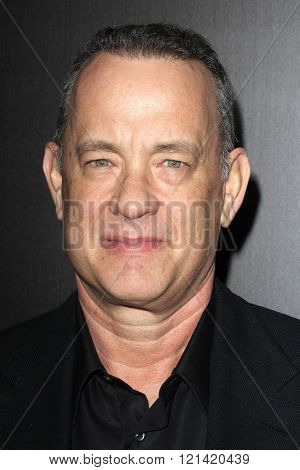 LOS ANGELES - MAR 10:  Tom Hanks at the Everything Is Copy LA Premiere at the TCL Chinese 6 Theaters on March 10, 2016 in Los Angeles, CA