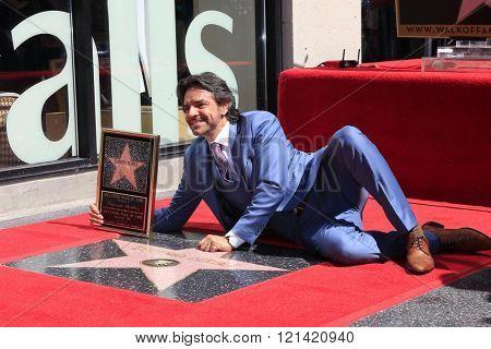 LOS ANGELES - MAR 10:  Eugenio Derbez at the Eugenio Derbez Hollywood Walk of Fame Star Ceremony at the Hollywood Walk of Fame on March 10, 2016 in Los Angeles, CA