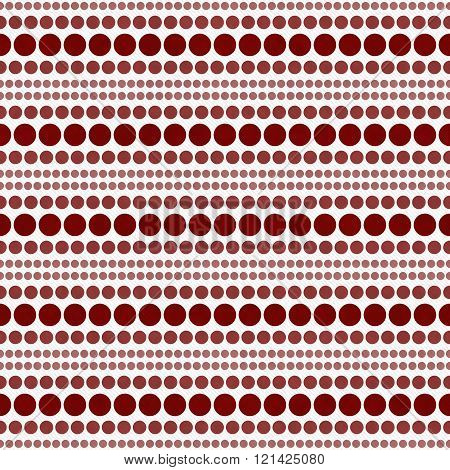 Red and White Polka Dot Abstract Design Tile Pattern Repeat Background that is seamless and repeats