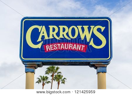 Carrows Restaurant Sign And Logo