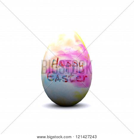 Cheerful Easter background