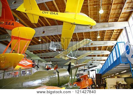 The Aviation Museum In Vantaa