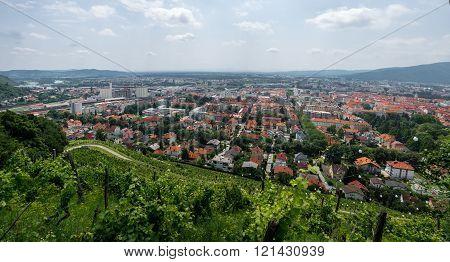 Cityscape Of Maribor