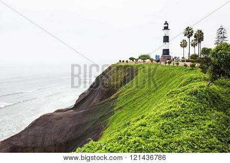 Lighthouse In Miraflores