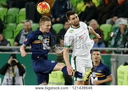 Ferencvaros - Puskas Akademia Otp Bank League Football Match
