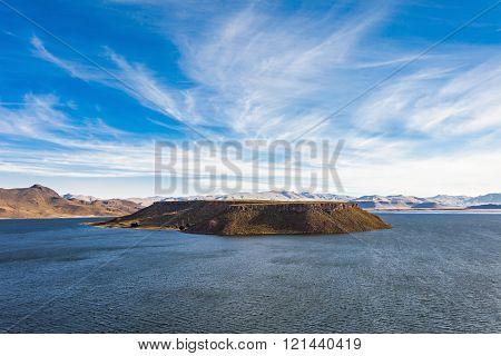 Sillustani, Umayo Lake