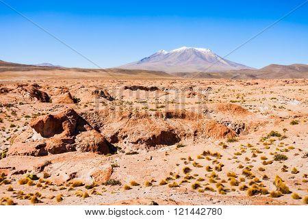 Ollague Volcano