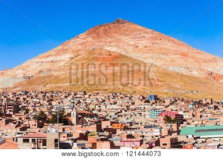 Cerro Rico Mountain