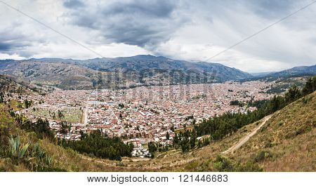 Huaraz Aerial View