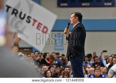 Presidential Candidate Ted Cruz