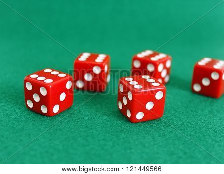 Dice Number Game Play Cube