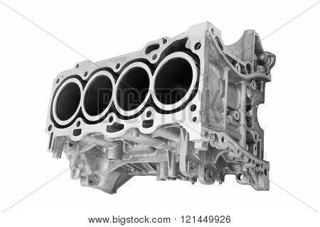 block car engine cylinder