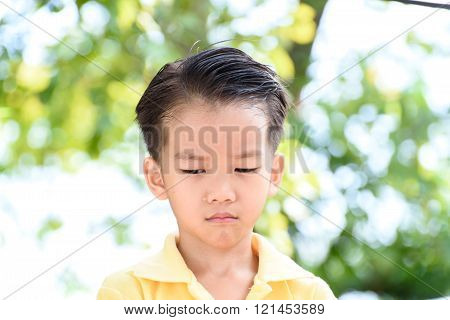 Boy Crying And Tears