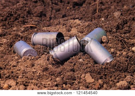 .45 Caliber Shells