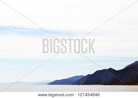 The mountains - Egypt - Dahab - Sea