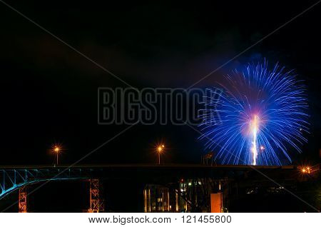 Bridge And Firework