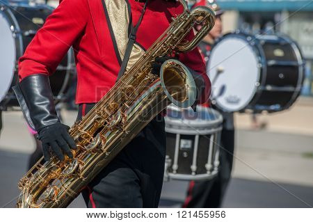 Brass of the band