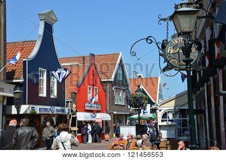 Marken city center