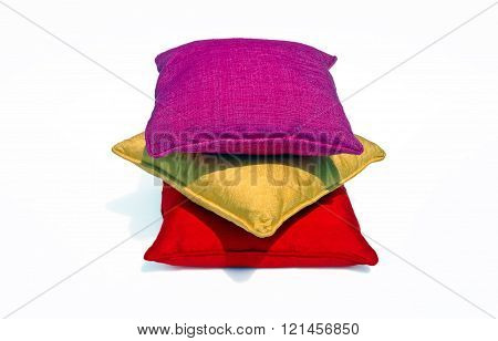 Thai silk pillows and pillows cases
