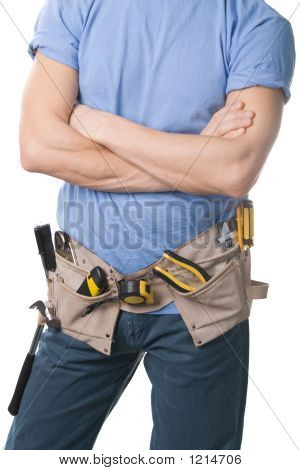 Carpenter With Tools