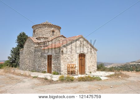 The Church Of The Archangel Michael,Cyprus