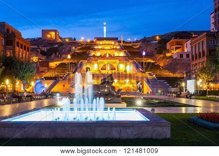 The Cascade, Yerevan