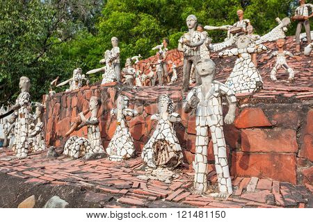 Rock Garden, Chandigarh