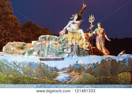 Statues In Rishikesh