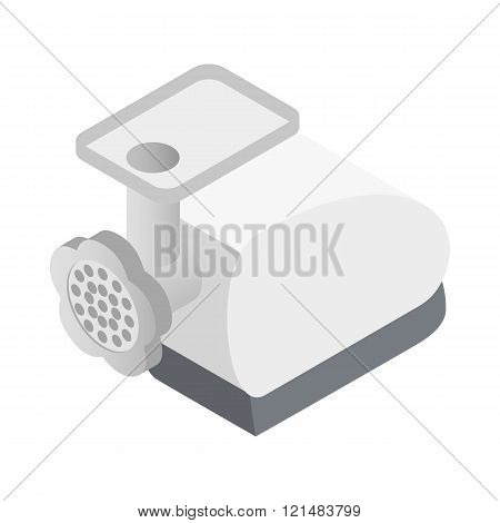 Grinder icon, isometric 3d style