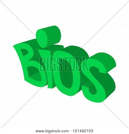 BIOS servise icon,cartoon style