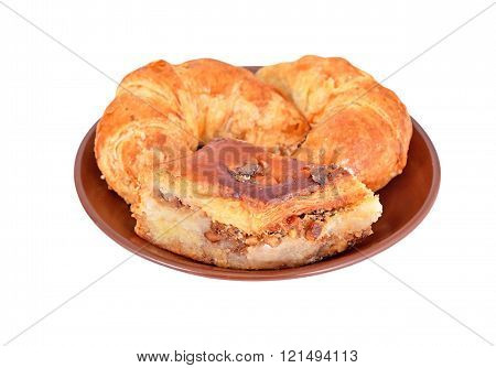 Cookie And Crescent Roll With Nut