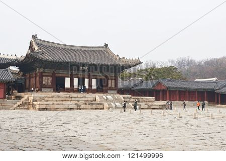 Myeongjeongjeon, Main Hall Of Changgyeonggung.