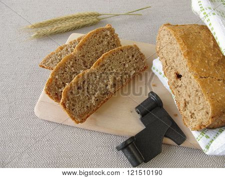 Bread from bread making machine