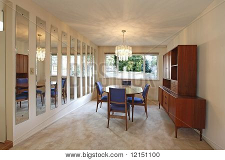 Outdated Sixties Diningroom