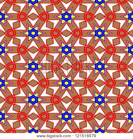 Kaleidoscope Of Seamless Texture