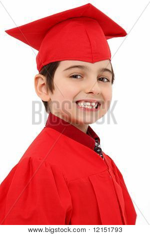 Proud Kindergarten Graduate Child