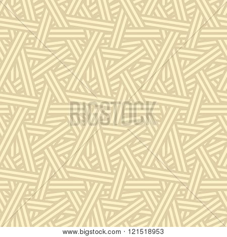 Seamless Interweaving Lines Pattern Background