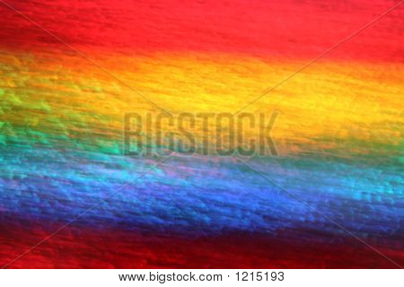 Vivid Rainbow Colors Blur.
