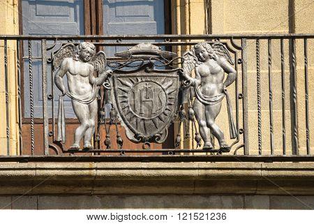 Vic (catalunya, Spain): Balcony