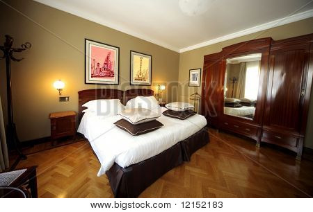 eine Luxus-Bett-Zimmer