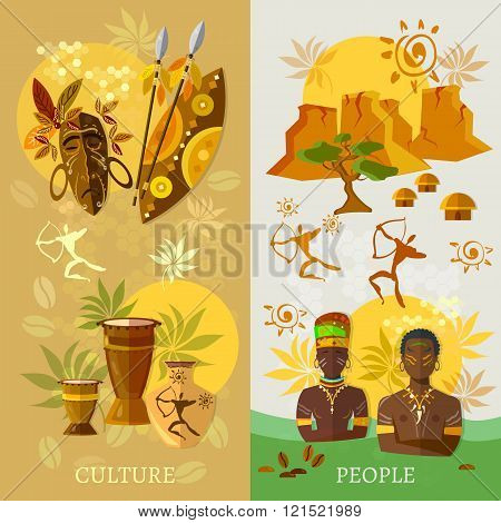 African Banner Africa Culture And Traditions Ancient Tribes Of Africa