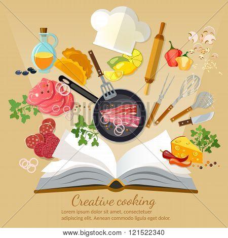 Cookbook Creative Cooking