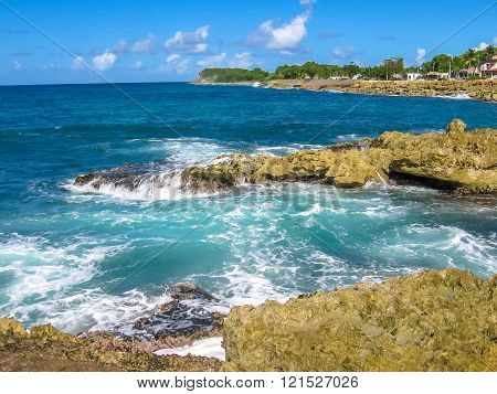 Guadeloupe north coast