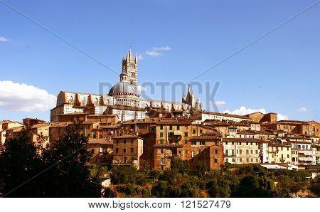 Sienna. Tuscany. Italy