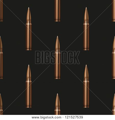 Rifle Bullets pattern background